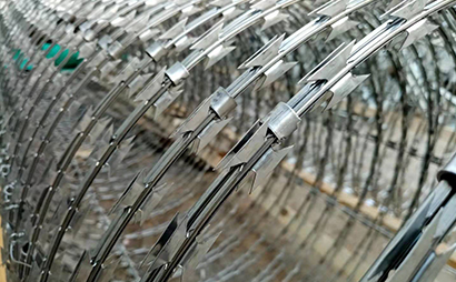 螺旋刀片刺网(蛇腹型)