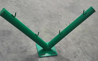 V型刀片刺网支架